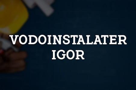 Project – Plumber Igor